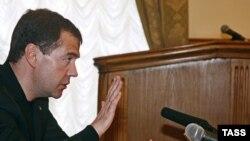 1 апреля в Махачкале Дмитрий Медведев провел заседание с руководителями северокавказских республик
