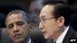 Cənubi Koreya prezidenti Lee Myung-Bak