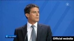 Manuel Valls la televiziunea germană
