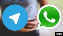 WhatsApp һәм Telegram Русиядә иң популяр мессенджерлар булып санала