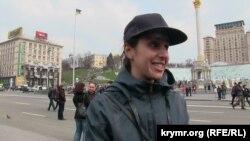 Camala Kiyevde ATRge qol tutuv aktsiyasında