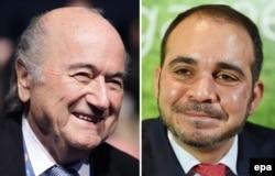 Йозеф Блаттер и Али бин аль-Хусейн