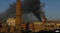 Pamje nga luftimet në Jemen