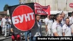 Štrajk radnika Fijata, Kragujevac