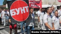 Radnici Fijata (na fotografiji) traže platu 50.000 dinara
