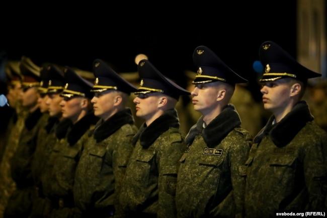 Репетиция Парада Победы в Минске