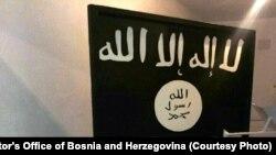 U pretresima pronađena i zastava Islamske države Iraka i Levanta (IDIL), foto: Tužilaštvo BiH
