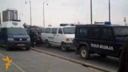Protestë e dhunshme në Shkup
