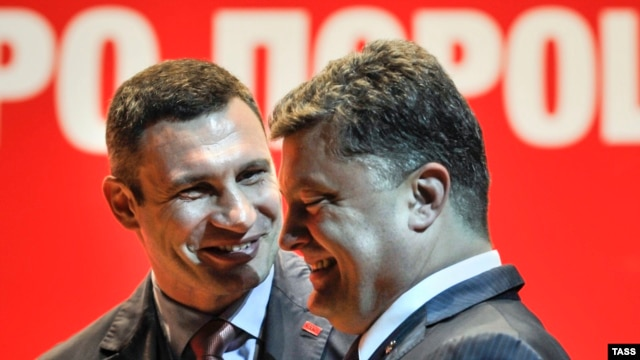 Віталій Кличко і Петро Порошенко