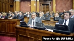 Opozicionari u Parlamentu Srbije
