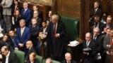 Liderul Camerei Comunelor, John Bercow, în timpul unei dezbateri despre Brexit