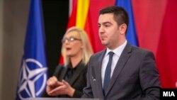 Министерот за економија Крешник Бектеши