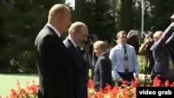 Azərbaycan prezidenti İlham Əliyev (solda) və Ermənistanın baş naziri Nikol Pashinian bu ilin sentyabrında Düşənbədə görüşüblər