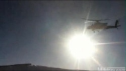 Dramatic Footage Of U.S. Helicopter Crash In Afghanistan