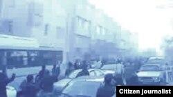 یکی از اعتراضهای اخیر در تهران