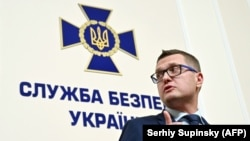 The acting chief of Ukraine's SBU security service, Ivan Bakanov, who previously headed President Volodymyr Zelenskiy's entertainment studio, Kvartal 95, and his presidential campaign.