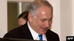 Israeli Prime Minister Binyamin Netanyahu leaves the White House after a March 23 meeting.