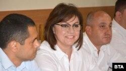 Актуелната лидерка на БСП Корнелија Нинова