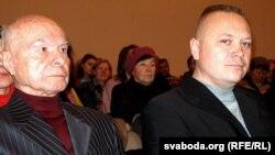 Зьлева направа: Аляксей Пяткевіч і Анатоль Брусевіч
