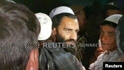 «Талибандын» абактан бошотулган адамдарынын бири. 8-апрель, 2020-жыл.