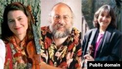 از چپ به راست: آندریا هوآگ، چارلی پیلزر و لورتا کلی