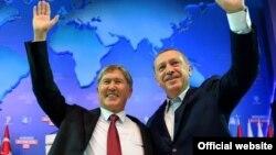 Алмазбек Атамбаев жана Режеп Тайып Эрдоган, Анкара, 1-октябрь, 2012-жыл
