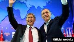Алмазбек Атамбаев жана Режеп Тайып Эрдоган, Анкара, 1-октябрь, 2012