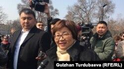 Экс-президент Роза Отунбаева. 10 марта 2020 года.