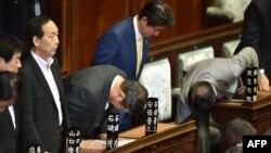 Илустрација - Седница на јапонскиот Парламент