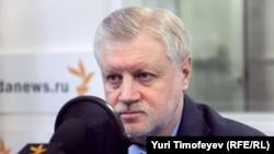 «Ədalətli Rusiya» Partiyasının lideri Sergey Mironov