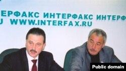 Сергей Веремеенко (c) һәм Ралиф Сафин (архив фотосы, ноябрь 2003)