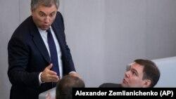 Спикер и вице-спикер Госдумы