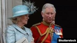 Princi Charles dhe gruaja e tij Camilla