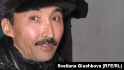 Болатбек Біләлов, азаматтық белсенді. Астана, 25 ақпан 2012 жыл