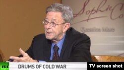 Stephen Cohen has been embraced by state-owned Russian media like the global news network RT, where he is frequently brought on to pillory Washington and Brussels.