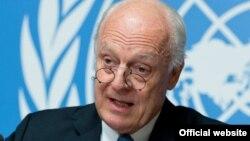Спецпосланник ООН по Сирии Стаффан де Мистура.