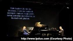 LP Duo na koncertu u Zagrebu
