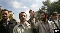 محمود احمدی نژاد در تظاهرات «روز قدس» در تهران