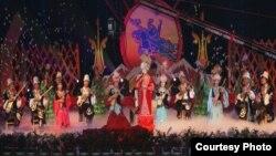 Текестеги «Коломто руху - Нооруз» майрамдык салтанаты, 2012-жылдын марты
