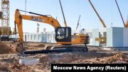 Строительство инфекционной больницы на окраине Москвы