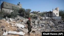 Pripadnik Hamasa u Pojasu Gaze, ilustrativna fotografija