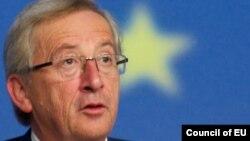 Премиерот на Луксембург и претседател на еврогрупата, Жан Клод Јункер