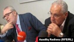 Joseph Debono Grech və Pedro Agramunt