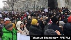 «#REакция» жарандык акциясы. 25-ноябрь, 2019-жыл.