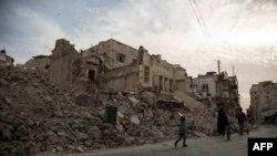 Алеппо, Сирия, 2 мамыр 2016 жыл.