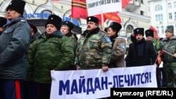 "Moskvada ""anti-naydan"" mitinqi, 21 fevral 2015"