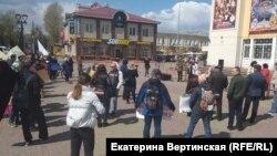 Митинг в Иркутске 11 мая