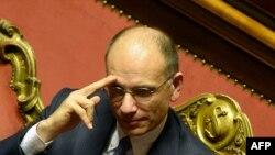 Италия премьер-министрі Энрико Летта.