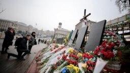 În amintirea victimelor Maidanului.