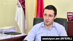 Исполняющий обязанности ректора Армянского государственного экономического университета Рубен Айрапетян (архив)